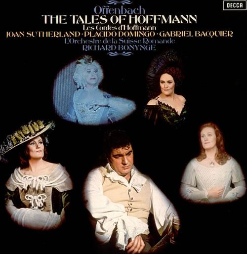 Jacques Offenbach The Tales of Hoffmann 3-LP vinyl record set (Triple Album) UK J4G3LTH538618