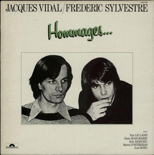 Jacques Vidal & Frederic Sylvestre Hommages ... vinyl LP album (LP record) French KBILPHO584581