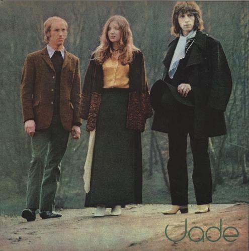 "Jade (Folk) Fly On Strangewings + 7"" vinyl LP album (LP record) UK O86LPFL683919"