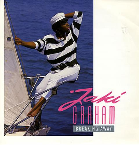 "Jaki Graham Breaking Away 12"" vinyl single (12 inch record / Maxi-single) UK JAK12BR239508"