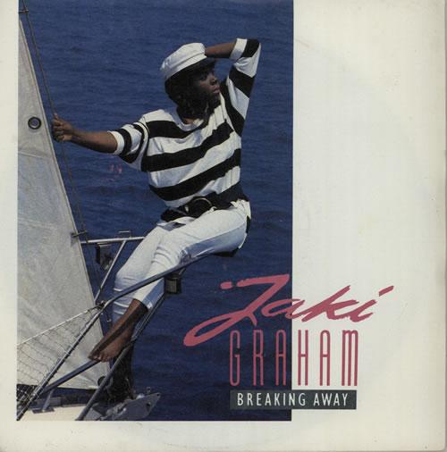"Jaki Graham Breaking Away 7"" vinyl single (7 inch record) UK JAK07BR581690"