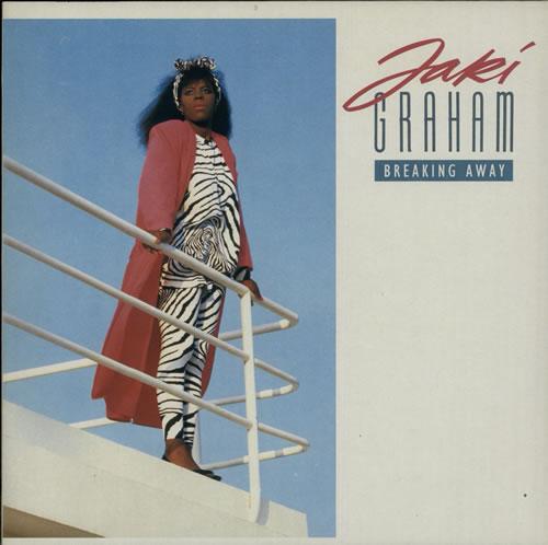 Jaki Graham Breaking Away vinyl LP album (LP record) Dutch JAKLPBR628303
