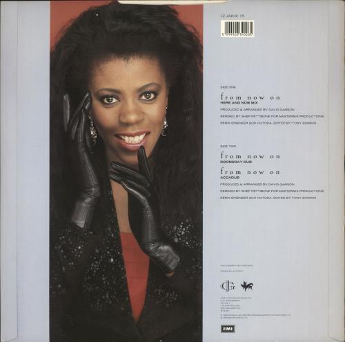 "Jaki Graham From Now On 12"" vinyl single (12 inch record / Maxi-single) UK JAK12FR718722"