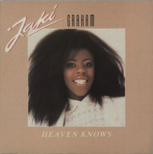 Jaki Graham Heaven Knows vinyl LP album (LP record) UK JAKLPHE289180