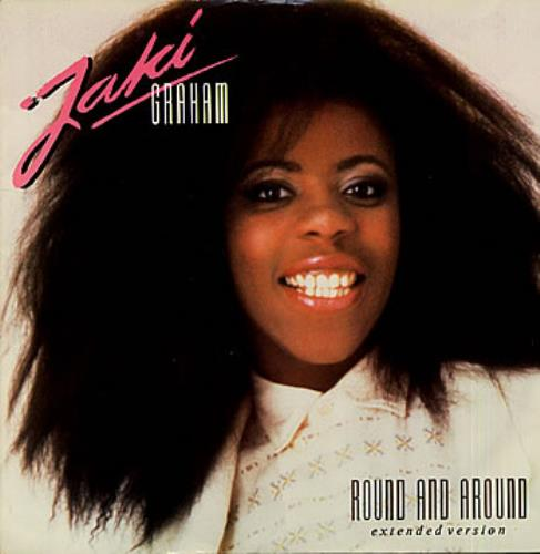 "Jaki Graham Round And Around 12"" vinyl single (12 inch record / Maxi-single) UK JAK12RO195779"