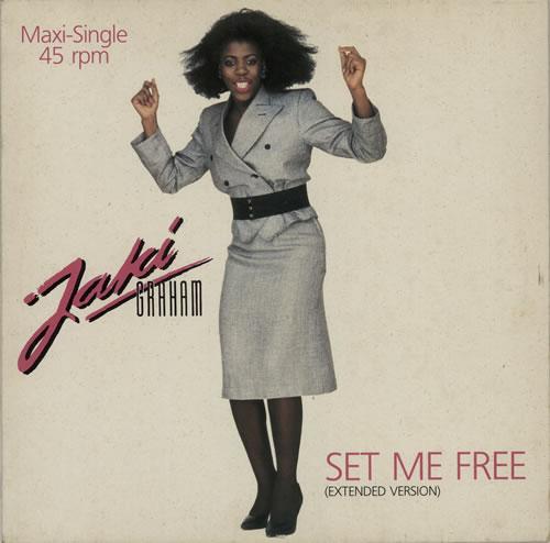 "Jaki Graham Set Me Free (Extended Version) 12"" vinyl single (12 inch record / Maxi-single) German JAK12SE627968"