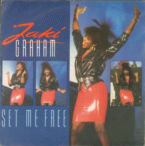 """Jaki Graham Set Me Free - Colour P/S 7"""" vinyl single (7 inch record) UK JAK07SE677450"""