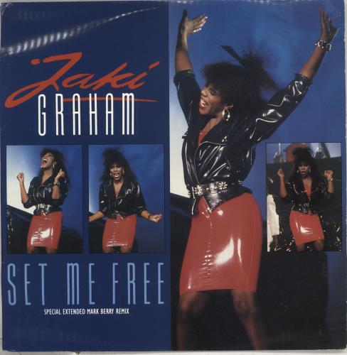 "Jaki Graham Set Me Free 12"" vinyl single (12 inch record / Maxi-single) UK JAK12SE238146"