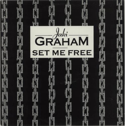 """Jaki Graham Set Me Free 12"""" vinyl single (12 inch record / Maxi-single) UK JAK12SE284940"""