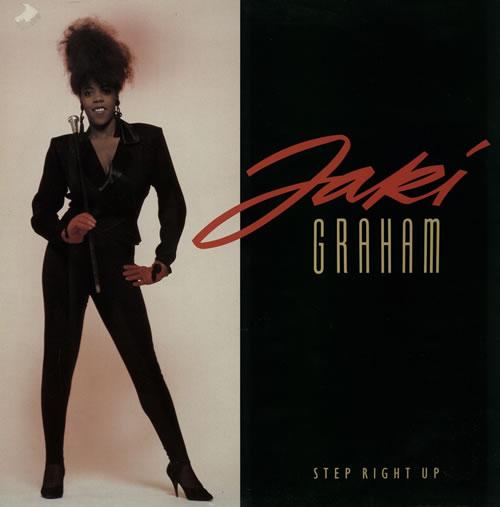 "Jaki Graham Step Right Up (Pure Dance Mix) 12"" vinyl single (12 inch record / Maxi-single) UK JAK12ST238148"