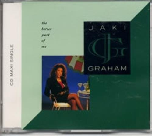 "Jaki Graham The Better Part Of Me CD single (CD5 / 5"") UK JAKC5TH114671"