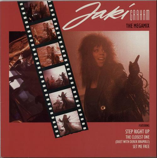 "Jaki Graham The Megamix 12"" vinyl single (12 inch record / Maxi-single) Dutch JAK12TH628299"