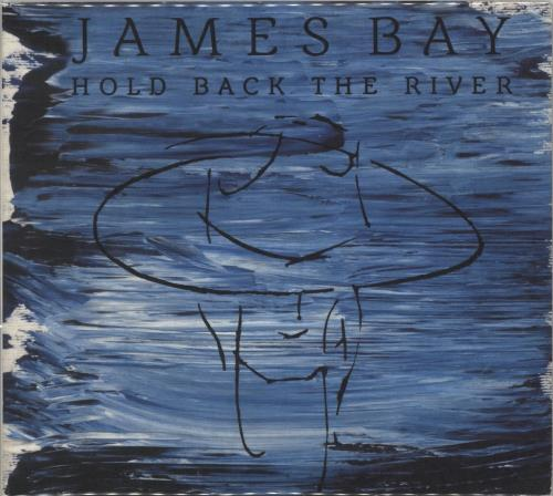 "James Bay Hold Back The River CD single (CD5 / 5"") French K68C5HO710150"