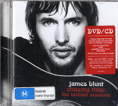 dvd james blunt chasing time the bedlam sessions