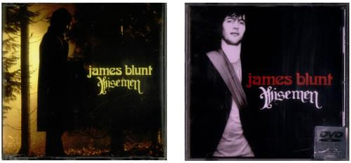 James Blunt Wisemen 3-disc CD/DVD Set UK BU13DWI542826