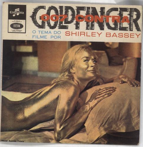 "James Bond Goldfinger EP 7"" vinyl single (7 inch record) Portugese JBD07GO727729"