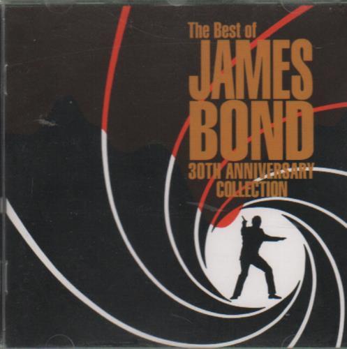 James Bond The Best Of James Bond - 30th Anniversary CD album (CDLP) UK JBDCDTH649892