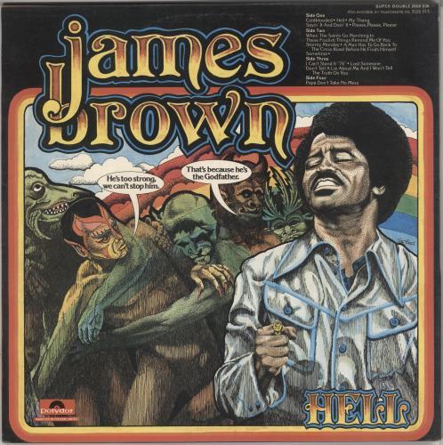 James Brown Hell 2-LP vinyl record set (Double Album) UK JMB2LHE728605