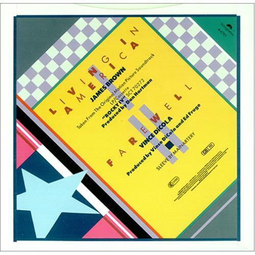 "James Brown Living In America 7"" vinyl single (7 inch record) UK JMB07LI418134"