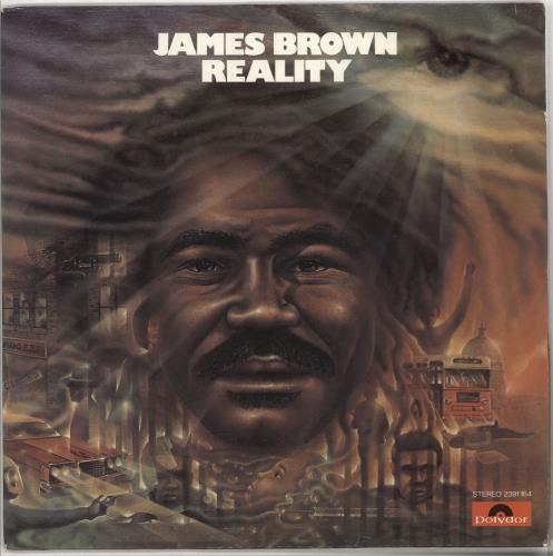 James Brown Reality vinyl LP album (LP record) German JMBLPRE727374