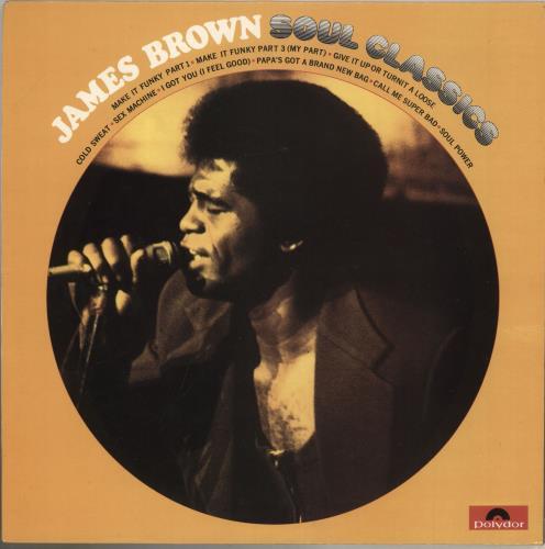James Brown Soul Classics vinyl LP album (LP record) UK JMBLPSO575592