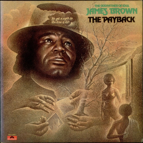 James Brown The Payback Afro Head Label Us 2 Lp Vinyl