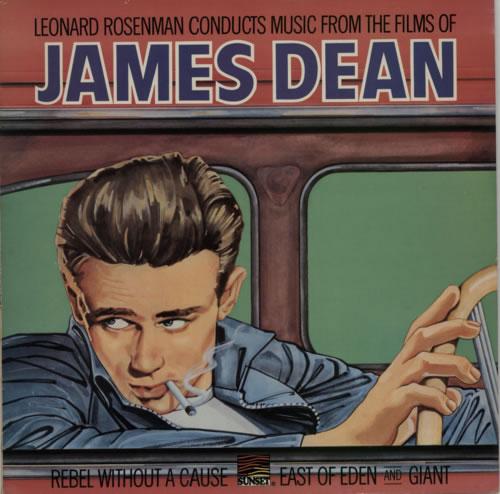 James Dean Music From The Films Of James Dean vinyl LP album (LP record) UK JDNLPMU616749