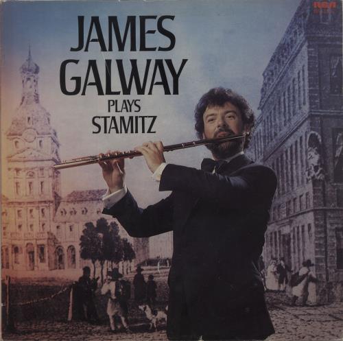 James Galway James Galway Plays Stamitz vinyl LP album (LP record) UK 1JGLPJA686214