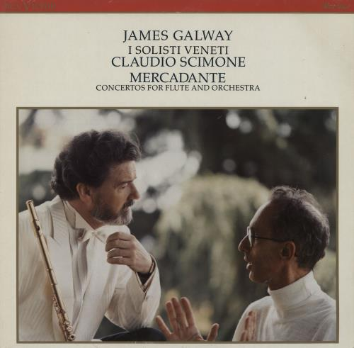 James Galway Mercadante: Concertos For Flute And Orchestra vinyl LP album (LP record) German 1JGLPME759911