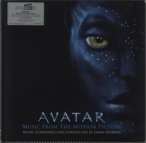 James Horner Avatar - 180gm - Blue Vinyl 2-LP vinyl record set (Double Album) UK K632LAV674586