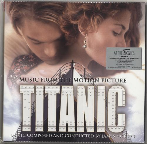 James Horner Titanic - 180gram Blue Vinyl + Numbered 2-LP vinyl record set (Double Album) UK K632LTI698802