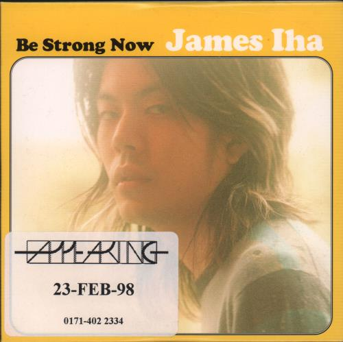 "James Iha Be Strong Now CD single (CD5 / 5"") UK IHAC5BE105592"