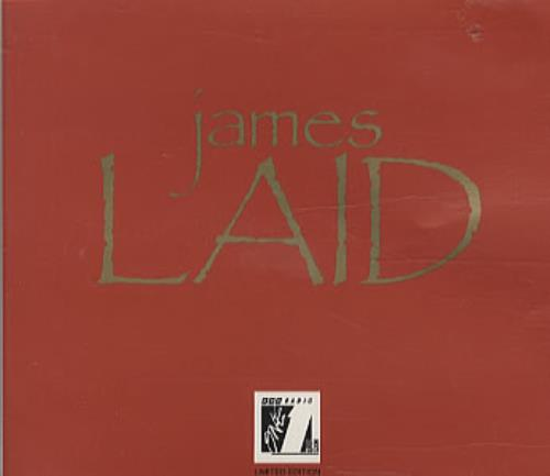 James Laid - Live On Radio 1 UK CD single (CD5 / 5