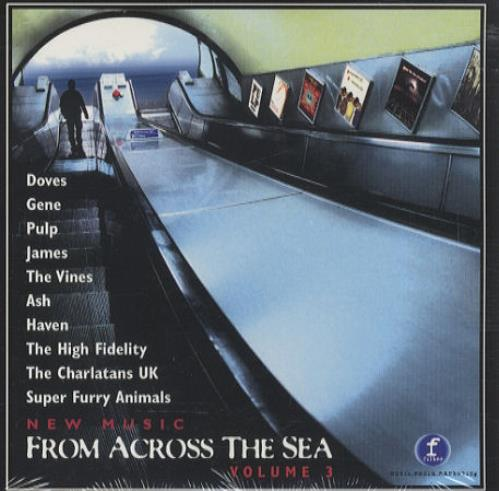 James Laid - on New Music From Across The Sea Volume 3 US Promo CD album  (CDLP)
