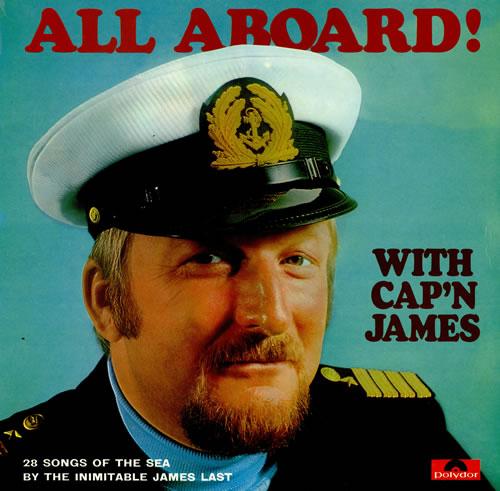 James Last All Aboard With Cap'n James vinyl LP album (LP record) UK JLSLPAL458427