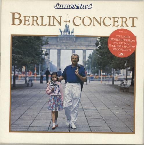 James Last Berlin Concert vinyl LP album (LP record) UK JLSLPBE455430