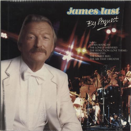 James Last By Request - shrink + insert vinyl LP album (LP record) UK JLSLPBY640533