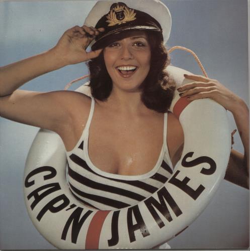 James Last Cap'n James vinyl LP album (LP record) UK JLSLPCA659706