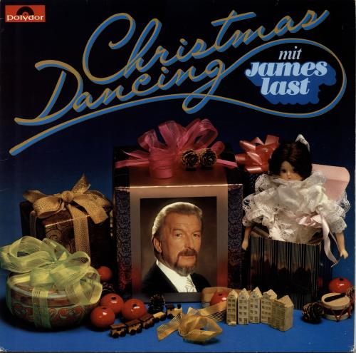 James Last Christmas Dancing vinyl LP album (LP record) German JLSLPCH695579