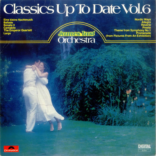 James Last Classics Up To Date Vol. 6 vinyl LP album (LP record) UK JLSLPCL528843