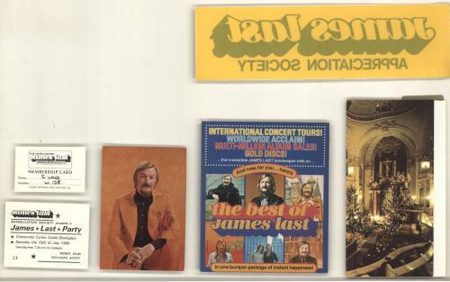 James Last Ein Festliches Konzert Zur Weihnachtszeit Mit James Last - James Last Society Xmas Gift Pack vinyl LP album (LP record) German JLSLPEI695608