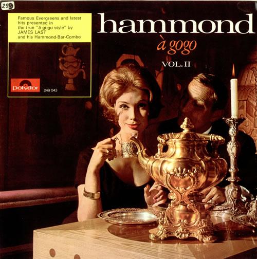 James Last Hammond À GoGo Vol. II vinyl LP album (LP record) UK JLSLPHA487408