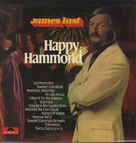 James Last Happy Hammond vinyl LP album (LP record) UK JLSLPHA387301