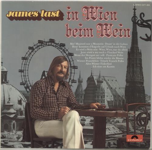 James Last In Wien Beim Wein - EX vinyl LP album (LP record) German JLSLPIN695593