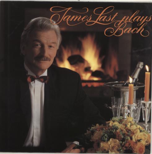 James Last James Last Plays Bach vinyl LP album (LP record) German JLSLPJA695514