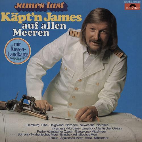 James Last Kapt´n James Auf Allen Meeren vinyl LP album (LP record) German JLSLPKA576839
