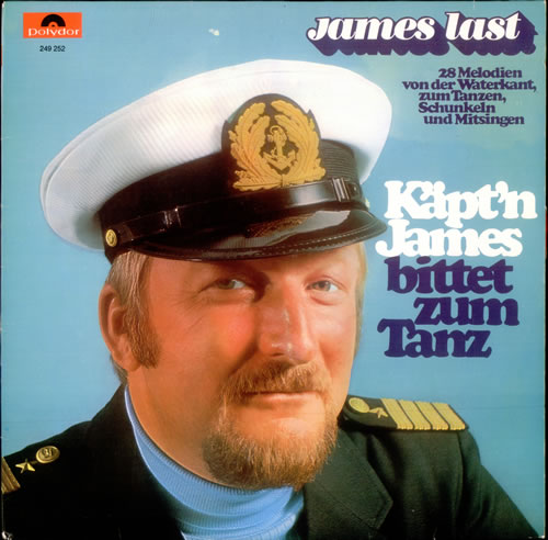 James Last Kapt N James Bittet Zum Tanz German Vinyl Lp