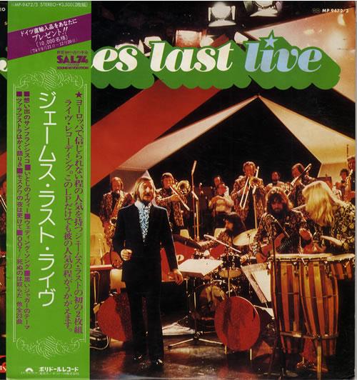 James Last Live 2-LP vinyl record set (Double Album) Japanese JLS2LLI554205