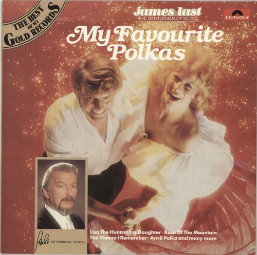 James Last My Favourite Polkas vinyl LP album (LP record) UK JLSLPMY695468