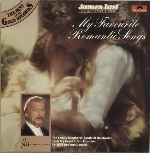 James Last My Favourite Romantic Songs vinyl LP album (LP record) UK JLSLPMY695472